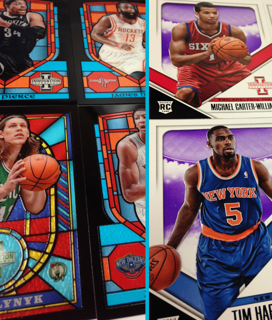 Panini America 2013-14 Innovation Basketball Redemption Packs Main