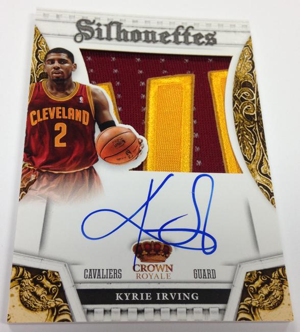 Panini Preferred Basketball 2013/14 Autograph Kyrie Irving