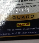 Panini America 2013-14 Select Basketball Teaser (35)