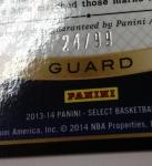 Panini America 2013-14 Select Basketball Teaser (35)