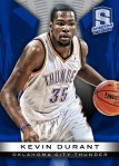 Panini America 2013-14 Spectra Basketball Durant Blue