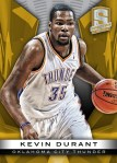 Panini America 2013-14 Spectra Basketball Durant Gold