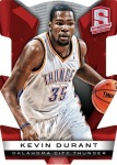 Panini America 2013-14 Spectra Basketball Durant Red Die-Cut