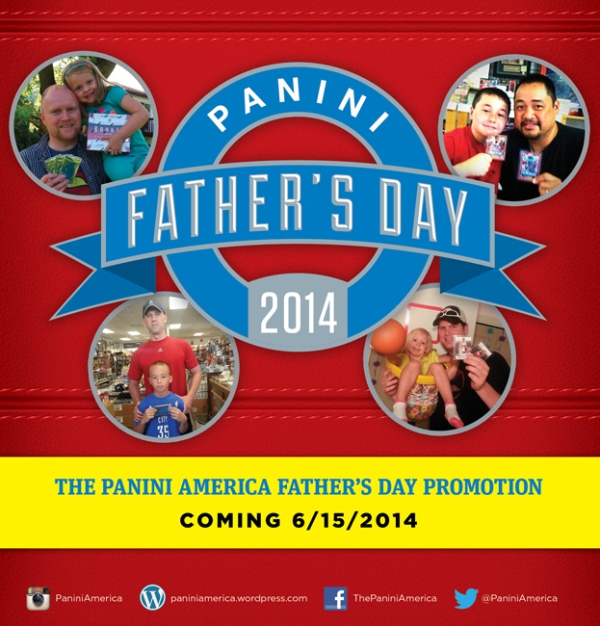 Panini America 2014 Father's Day Main