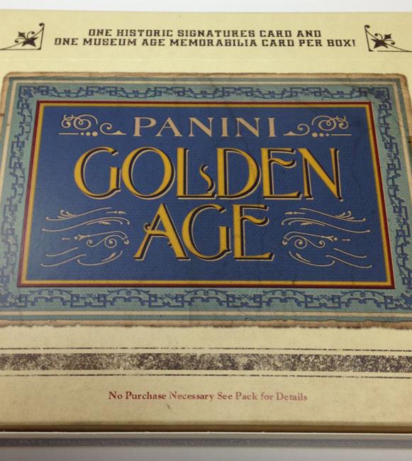Panini America 2014 Golden Age Baseball QC (2)
