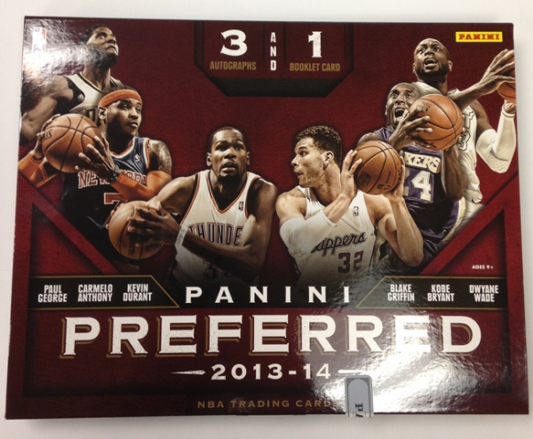 Panini America 2013-14 Preferred Basketball QC (1)