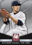 Panini America 2014 Donruss Baseball Series 2 Tanaka Elite