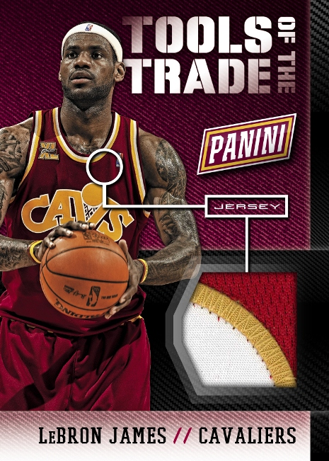 Panini America 2014 National Tools of the Trade Update James Prime