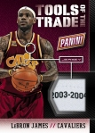Panini America 2014 National Tools of the Trade Update James Super Prime