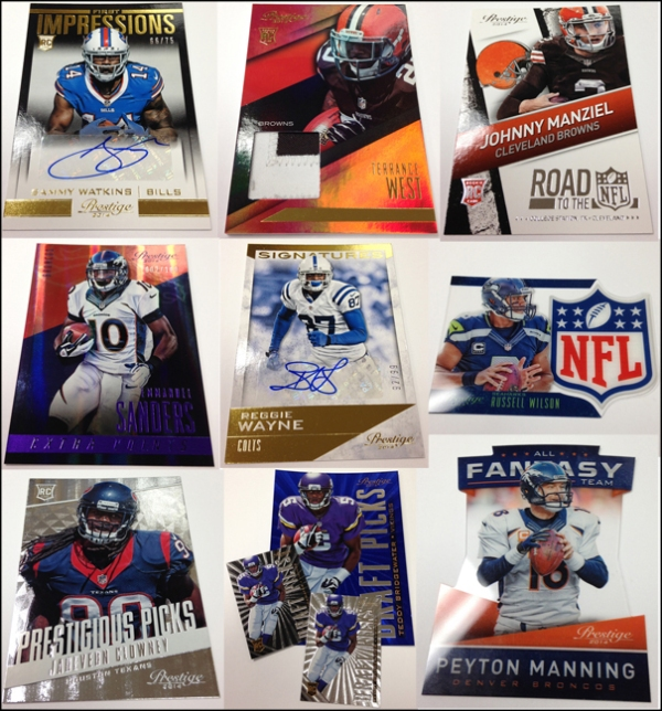 Panini America 2014 Prestige Football QC Main