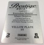 Panini America 2014 Prestige Football Teaser Box 1 (36)