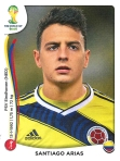 Panini America 2014 World Cup Sticker Update Arias