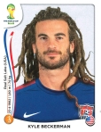 Panini America 2014 World Cup Sticker Update Beckerman