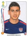 Panini America 2014 World Cup Sticker Update Bedoya