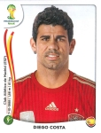 Panini America 2014 World Cup Sticker Update Costa