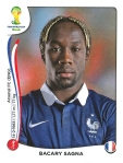 Panini America 2014 World Cup Sticker Update Sagna