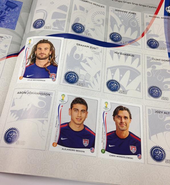 Panini America 2014 World Cup Update Main 2