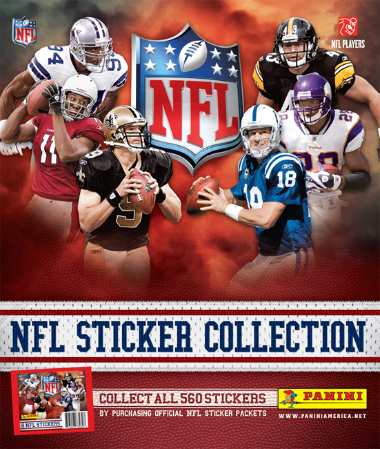 Manziel lands on cover of panini americas official 2014 nfl sticker album the knights lance
