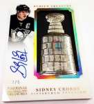 Panini America 2013-14 National Treasures Hockey Crosby Arrivals (20)