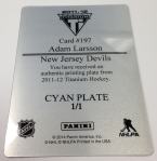 Panini America 2013-14 National Treasures Hockey Teaser (54)