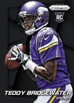 Panini America 2014 Prizm Football Bridgewater Finite Black Prizm
