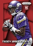 Panini America 2014 Prizm Football Bridgewater Red Power Prizm