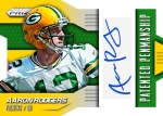 Panini America 2014 Prizm Football Rodgers Green Yellow Auto