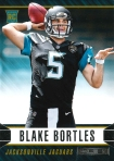 Panini America 2014 Rookies & Stars Football Bortles Variation RC