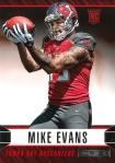 Panini America 2014 Rookies & Stars Football Evans Variation RC