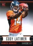 Panini America 2014 Rookies & Stars Football Latimer Variation RC