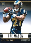 Panini America 2014 Rookies & Stars Football Mason Base RC