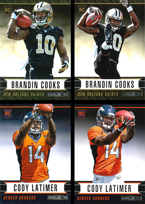 Panini America 2014 Rookies & Stars Football RC Variations Main