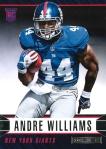 Panini America 2014 Rookies & Stars Football Williams Variation RC