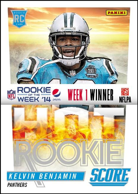 2014 Pepsi NFL Rookie of the Week Week 1 Winner Benjamin