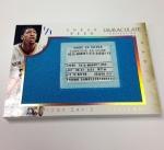 Panini America 2013-14 Immaculate Basketball Sneak Peek Anthony Davis (1)