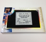 Panini America 2013-14 Immaculate Basketball Sneak Peek Carmelo Anthony