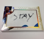 Panini America 2013-14 Immaculate Basketball Sneak Peek Kevin Durant (2)