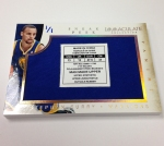 Panini America 2013-14 Immaculate Basketball Sneak Peek Steph Curry (1)
