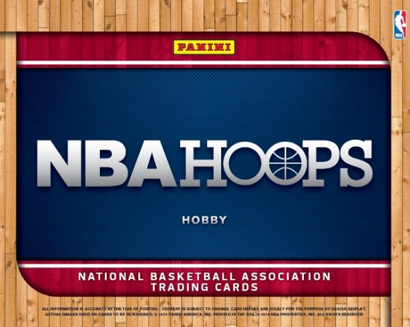 Panini America 2014-15 NBA Hoops Basketball PIS Main