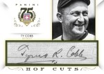 Panini America 2014 Hall of Fame 75th Anniversary Baseball Cobb Cut