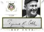 Panini America 2014 Hall of Fame 75th Anniversary Baseball Cobb Cut