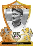 Panini America 2014 Hall of Fame 75th Anniversary Baseball Cobb Orange