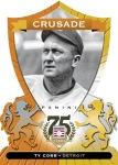 Panini America 2014 Hall of Fame 75th Anniversary Baseball Cobb Orange