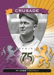 Panini America 2014 Hall of Fame 75th Anniversary Baseball Cobb Purple