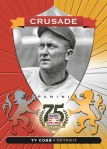 Panini America 2014 Hall of Fame 75th Anniversary Baseball Cobb Red