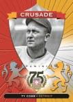 Panini America 2014 Hall of Fame 75th Anniversary Baseball Cobb Red
