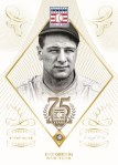 Panini America 2014 Hall of Fame 75th Anniversary Baseball Gehrig Diamond