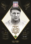 Panini America 2014 Hall of Fame 75th Anniversary Baseball Gehrig Emerald