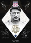 Panini America 2014 Hall of Fame 75th Anniversary Baseball Gehrig Sapphire