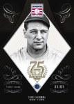 Panini America 2014 Hall of Fame 75th Anniversary Baseball Gehrig Sapphire